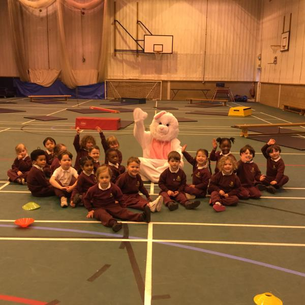 The Easter Bunny Visits Westbrook Hay