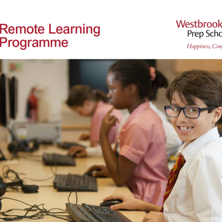 Remote Learning at Westbrook Hay